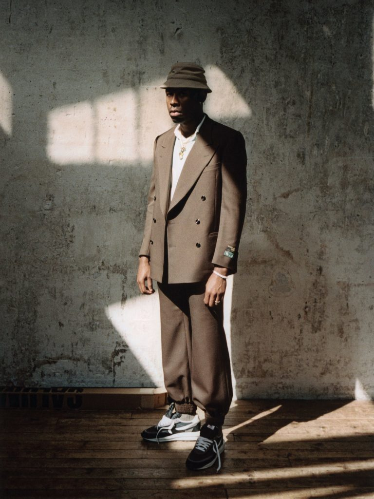 Tyler, The Creator y su colección con Lacoste en la portada de L'Officiel Hommes (2)