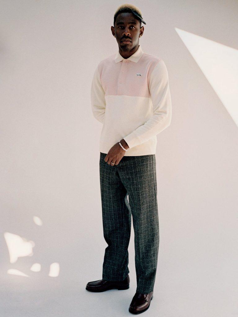 Tyler, The Creator y su colección con Lacoste en la portada de L'Officiel Hommes (6)
