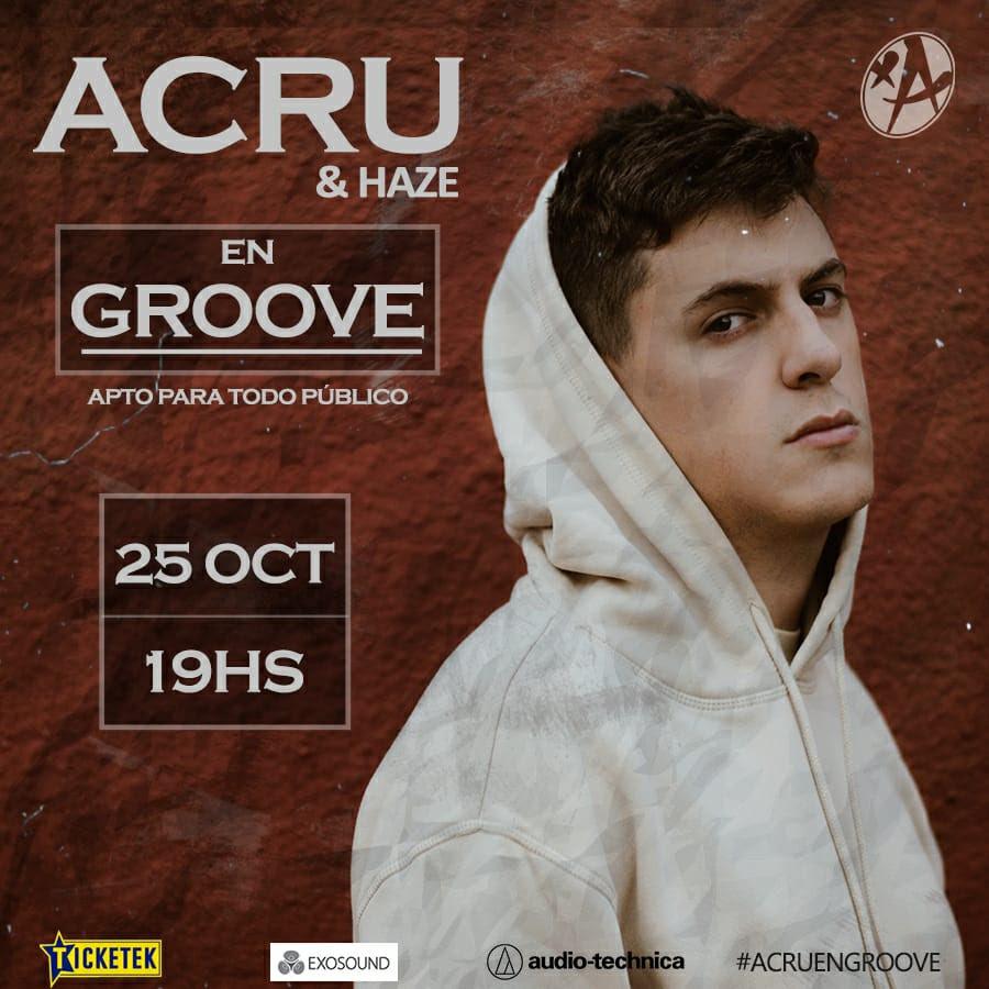 Acru se presenta en Groove con entradas agotadas (2)