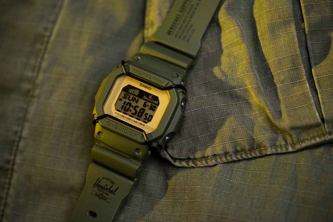 "Casio G-Shock y Herschel Supply ""You can surf later"" loqueva (2)"