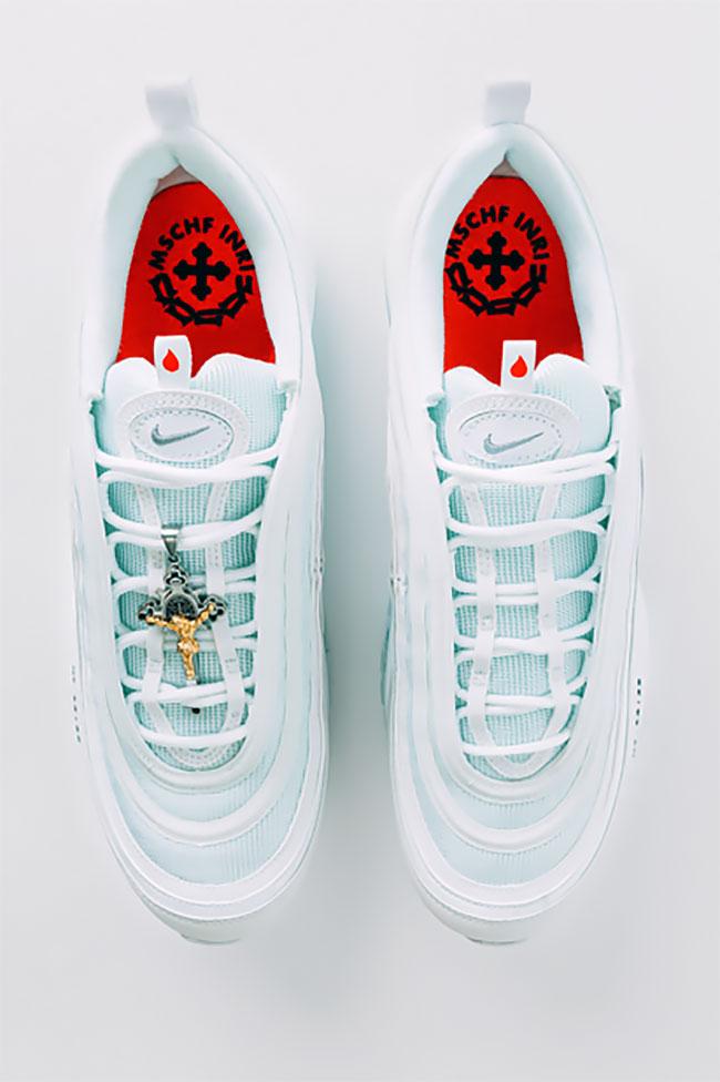 Jesus shoes zapatillas Nike Air max 97 agua bendita loqueva (6)