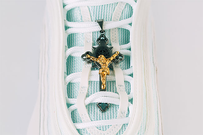 Jesus shoes zapatillas Nike Air max 97 agua bendita loqueva (8)