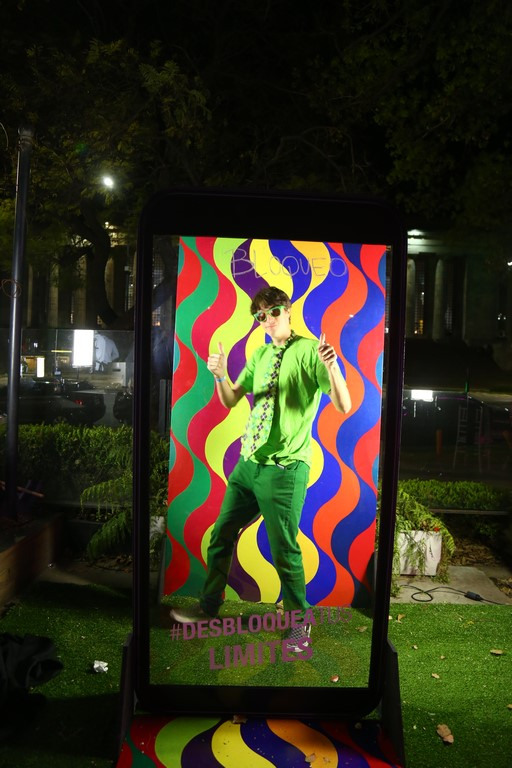 TCL en la Fiesta de Jóvenes del Bellas Artes Laberinto de color de Julio Le Parc (10)