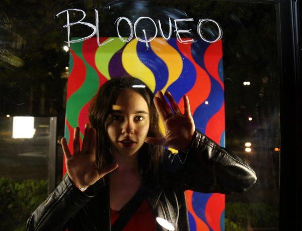 TCL en la Fiesta de Jóvenes del Bellas Artes Laberinto de color de Julio Le Parc (3)