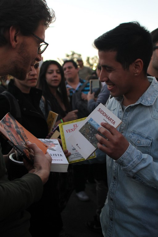 TEDxRíodelaPlata Intercambiando libros