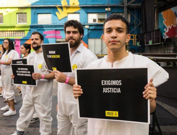 #LosTemasQueImportan, el festival de Amnistía Internacional en el Estadio Obras al aire libre (12)