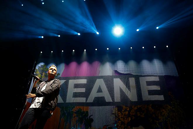Más de 15.000 personas disfrutaron del regreso de Keane a la Argentina (1)