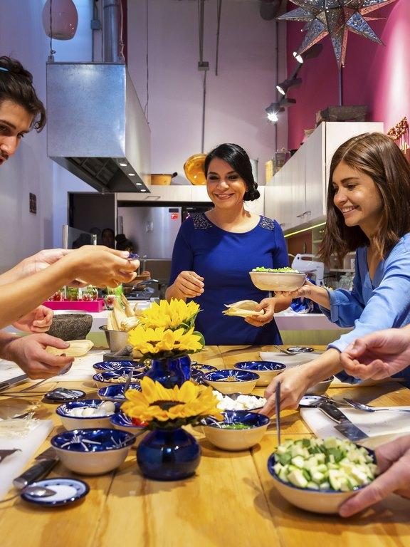 Disfruta cocinar platillos auténticos mexicanos - Ciudad de México, México