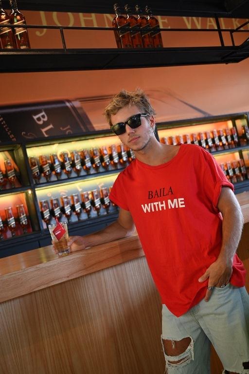 Franco Masini en el Highball Bar de Johnnie Walker