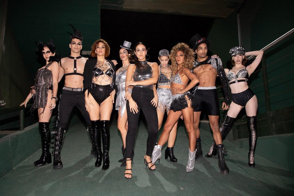 Los bailarines de Showmatch en la tercera edición de Fiesta Animal
