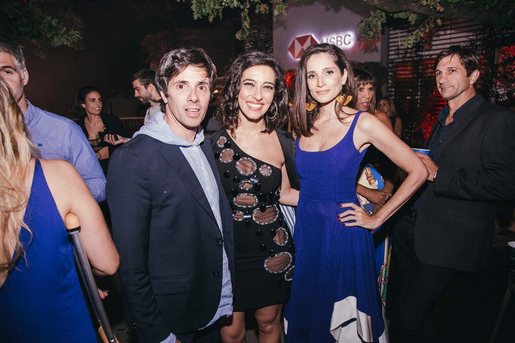 Robertito Funes Ugarte, Roxy Vazquez y Astrid Muñoz Astrada