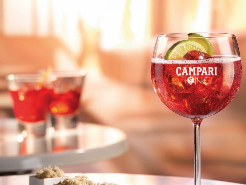 Campari & Tonic, combinación versátil y refrescante para el verano