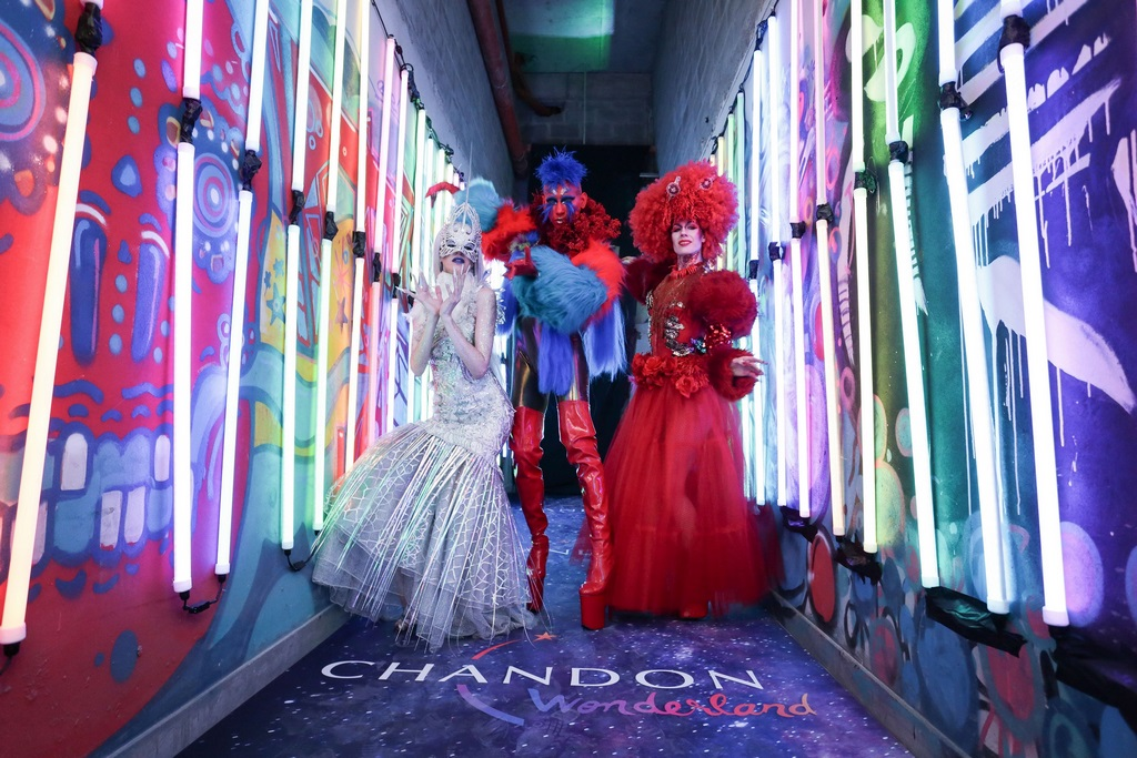 Chandon Wonderland y su tierra de celebraciones en Mar del Plata