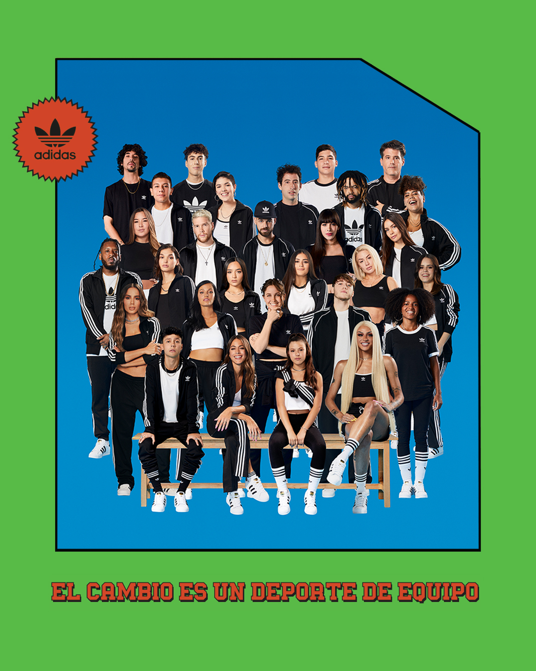 50 años de adidas Superstar team latinoamerica