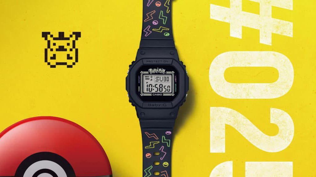 Los relojes BABY-G cumplieron 25 años y lo celebran con Pokémon G-SHOCK loqueva-argentina-2020 (5)