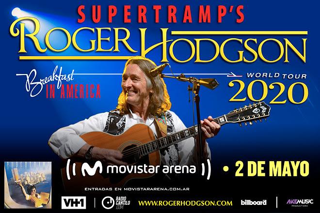 Roger Hodgson, la legendaria voz de Supertramp, en Argentina (2)
