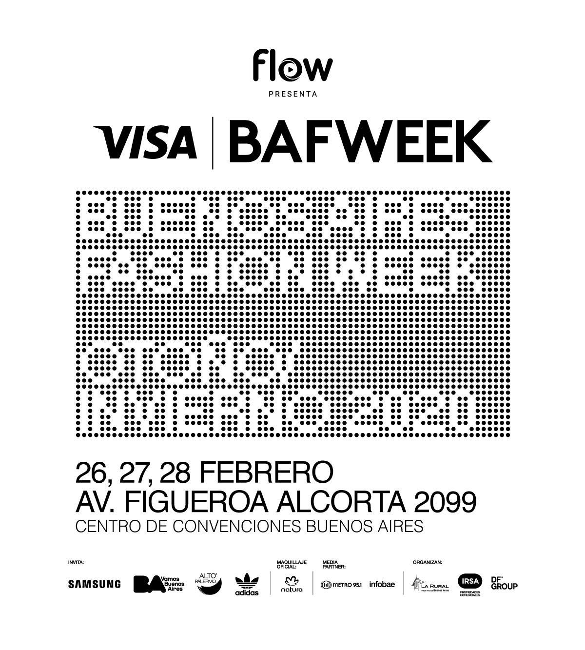 bafweek  Flow presenta VISA BAFWEEK FW20