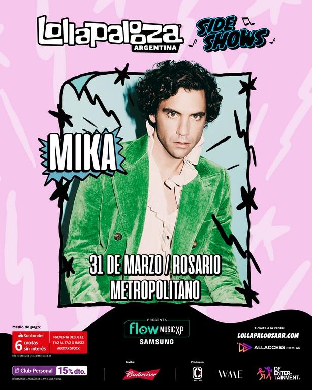 lollapalooza argentina 2020 sideshows loqueva_Mika