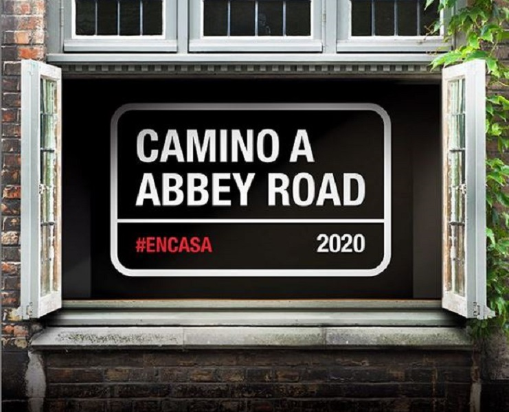 camino a abbey road en casa 2020