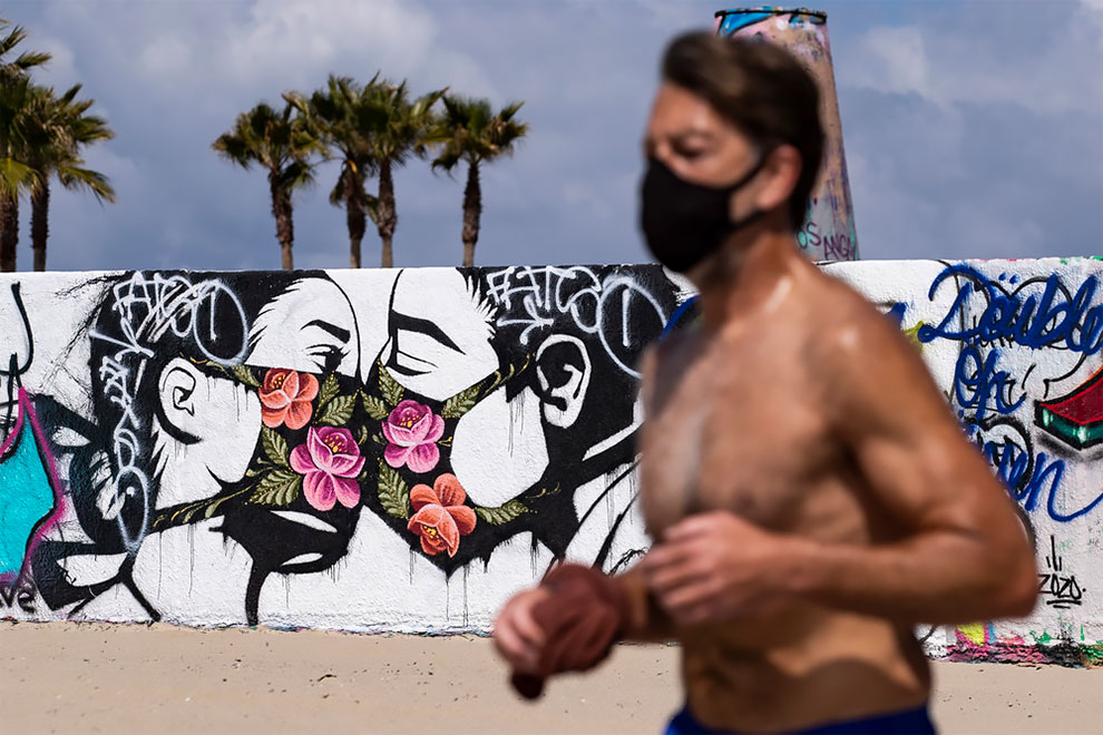 Venice, California, USA. Etienne Laurent EPA EFE