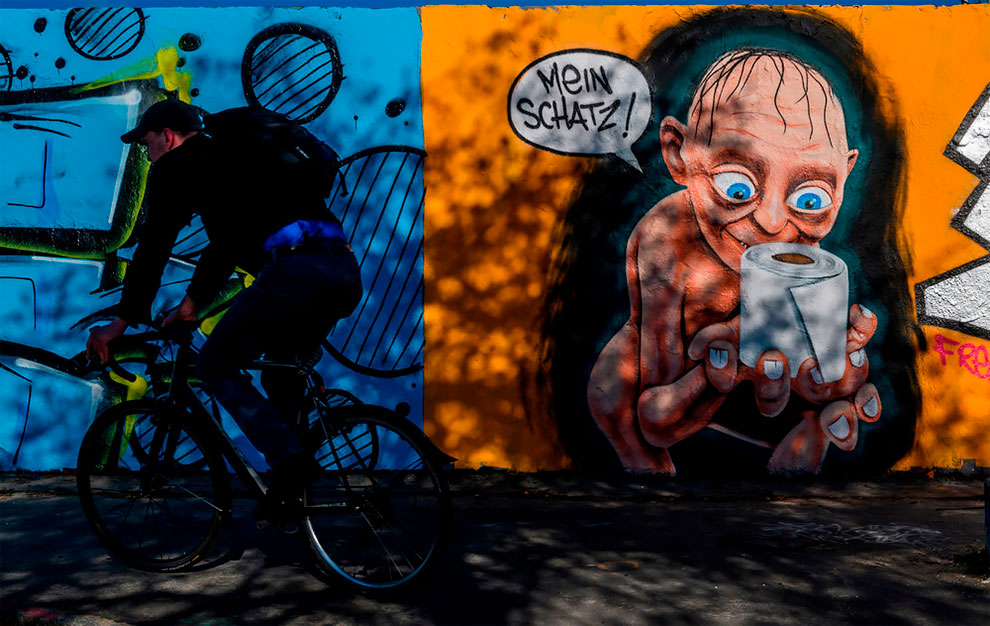 Mauerpark, Berlin, Alemania por Eme Freethinker. John MacDougall AFP Photo