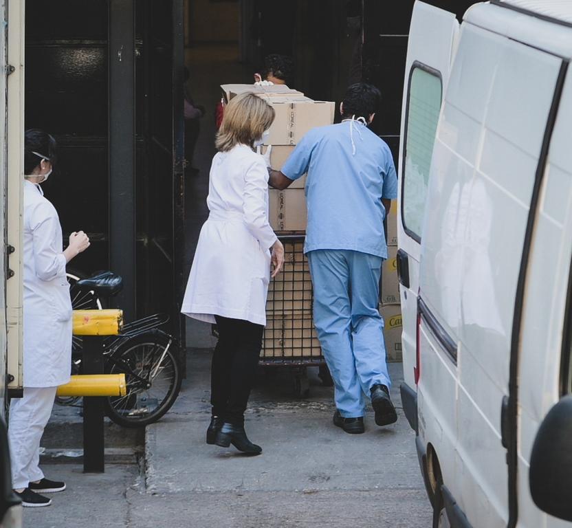 Donación La Roche Posay - Ingreso Hospital Fernández