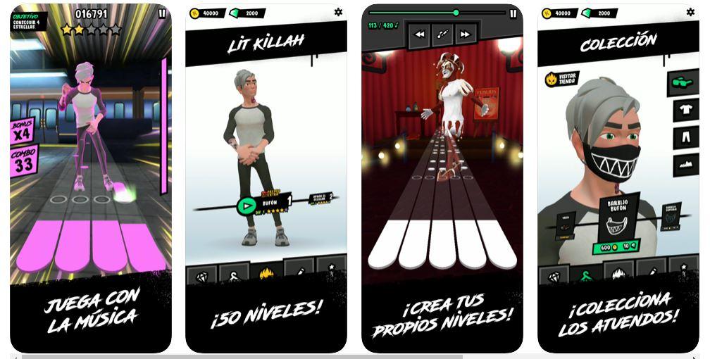 LIT killah presenta su nuevo videojuego de la mano de Warner Music Argentina 3