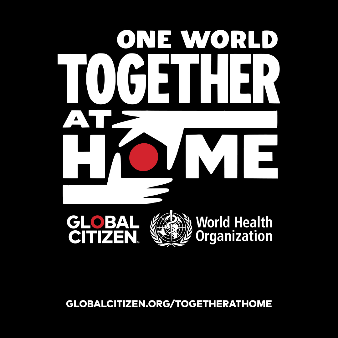 ONE WORLD TOGETHER AT HOME por E!, el primer festival virtual del mundo contra el COVID-19