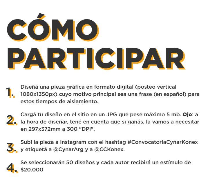 Cynar y CCKonex convocan a artistas gráficos  (1)