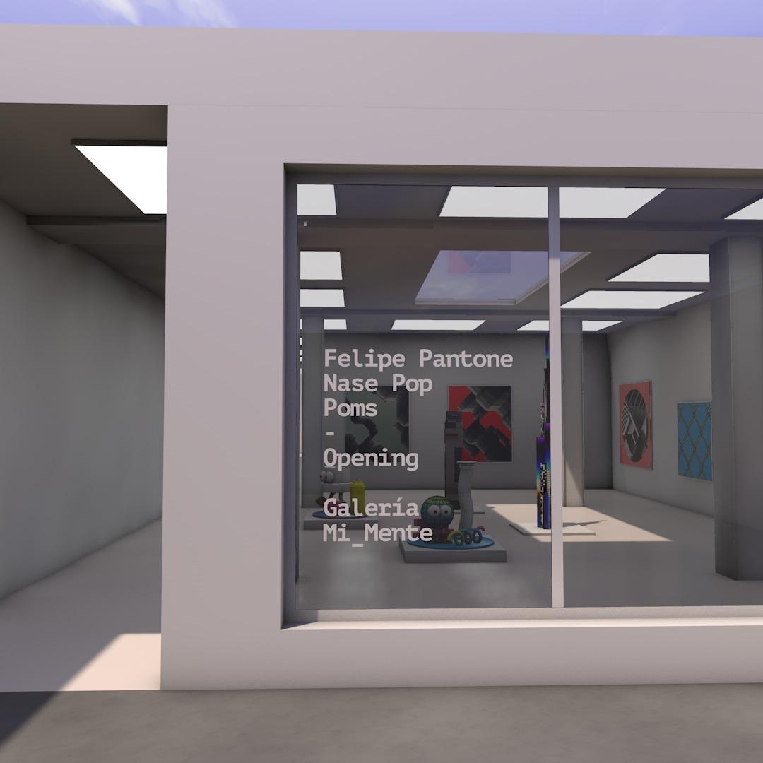 Galería En Mi Mente, una galería virtual POMS Nase Pop Felipe Pantone Vic Tolomei (2)