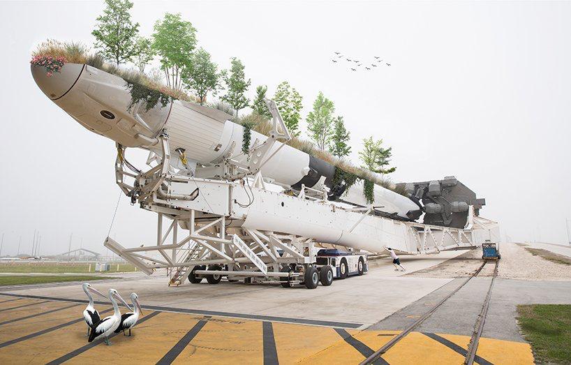 Nicolas Abdelkader bajar la velocidad 'the urgency to slow down' medios transporte maceteros gigantes (10)