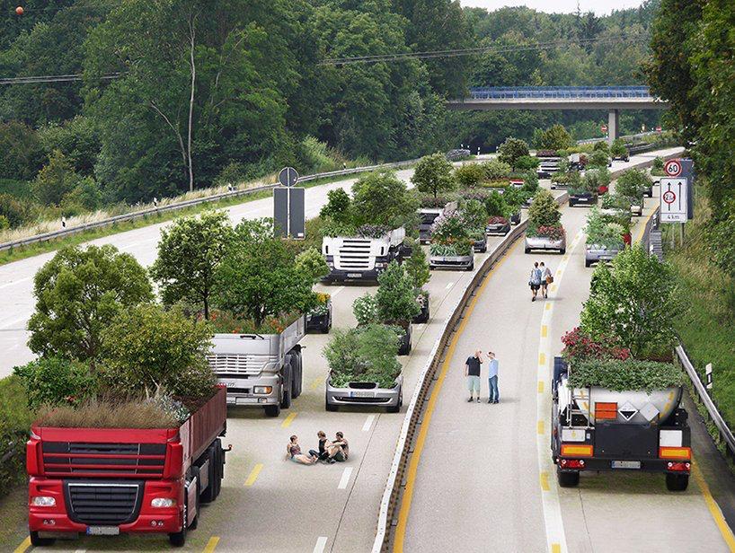 Nicolas Abdelkader bajar la velocidad 'the urgency to slow down' medios transporte maceteros gigantes (4)