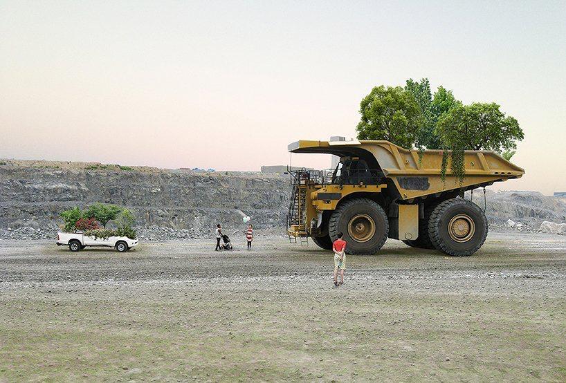 Nicolas Abdelkader bajar la velocidad 'the urgency to slow down' medios transporte maceteros gigantes (8)