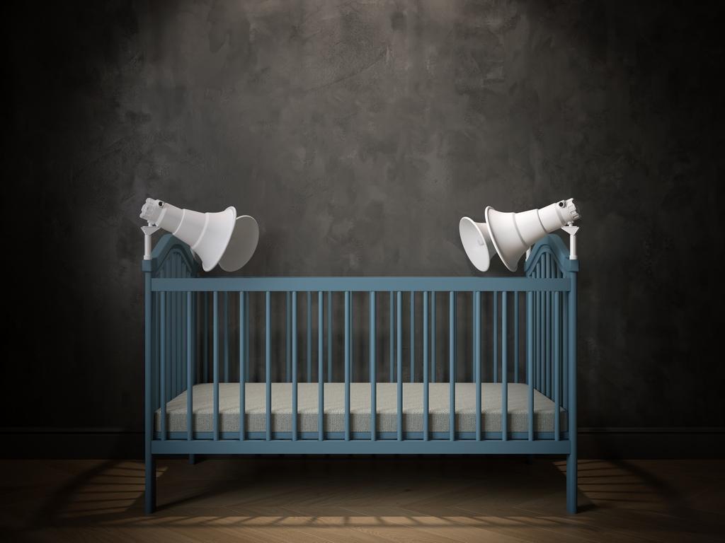 Reflecting on Isolation Baby Cribs Anna Radchenko (1)