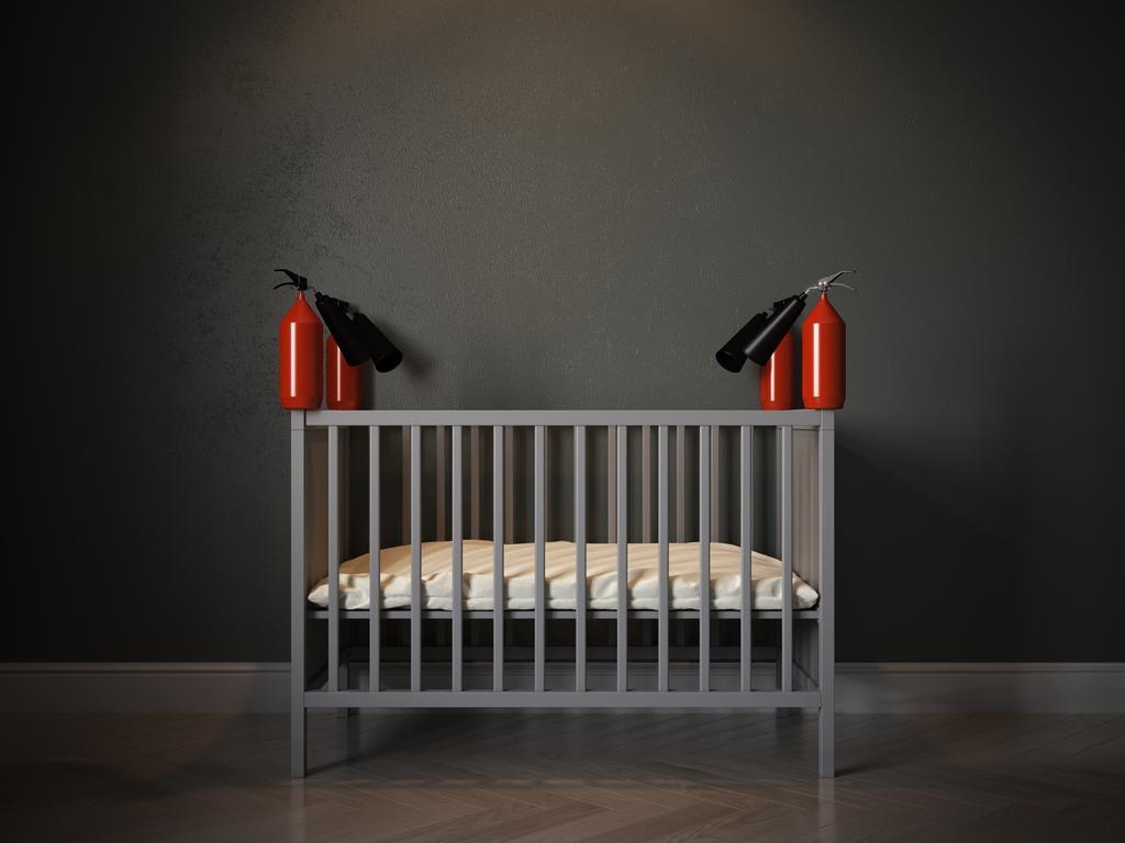 Reflecting on Isolation Baby Cribs Anna Radchenko (4)