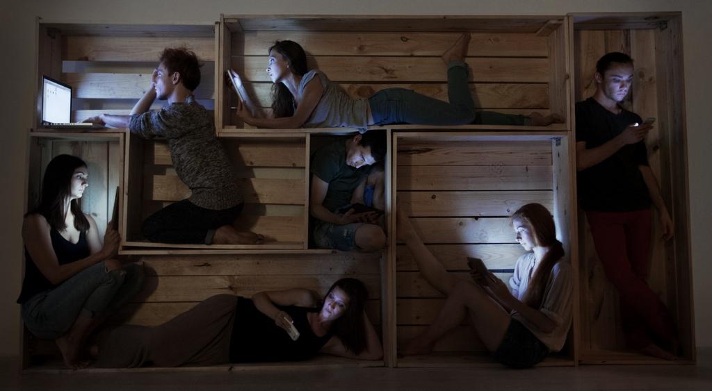 Reflecting on Isolation The Melancholy Rooms Anna Radchenko (5)