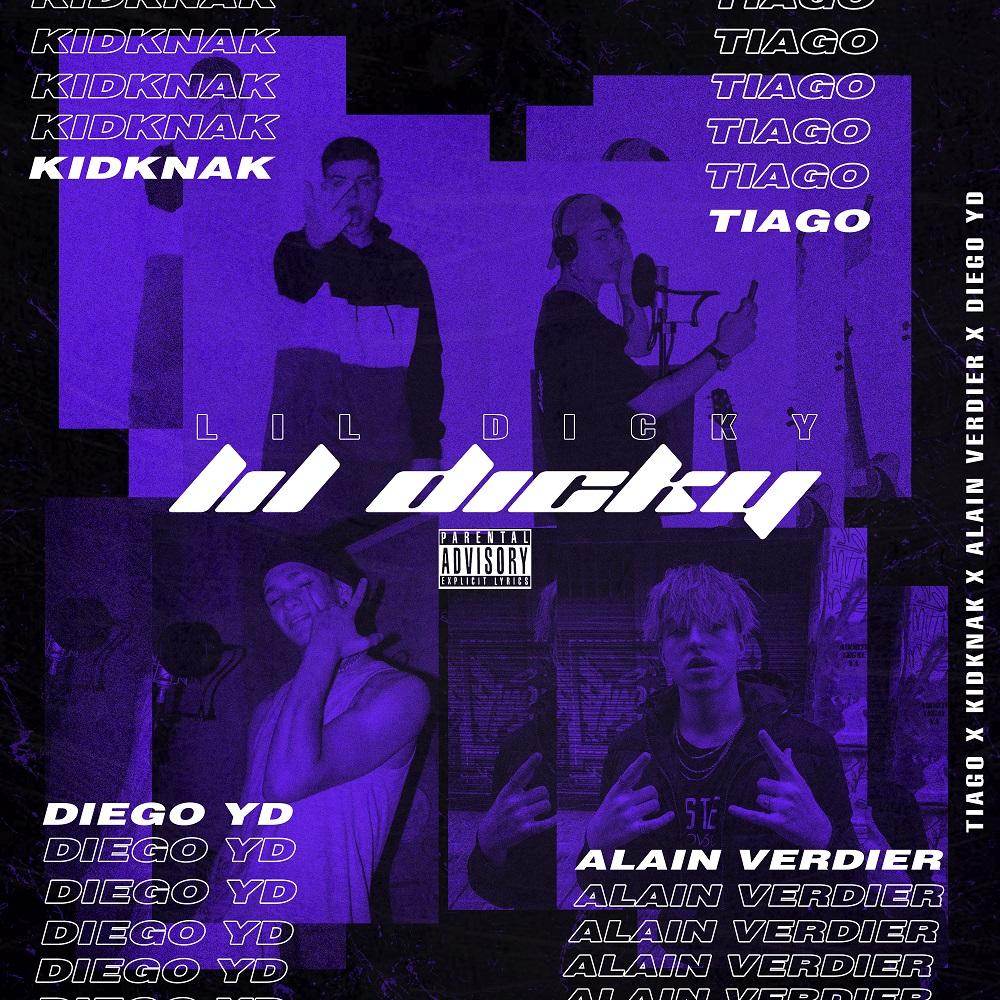 "Tiago presenta ""Lil Dicky"", junto a Knak, Yang D y Alain (1)"