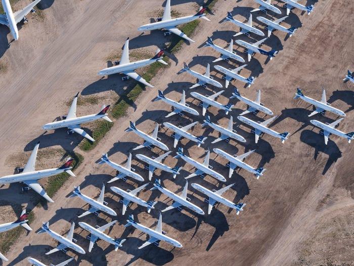 aviones estacionados aeropuertos estados unidos Andy Luten (22)