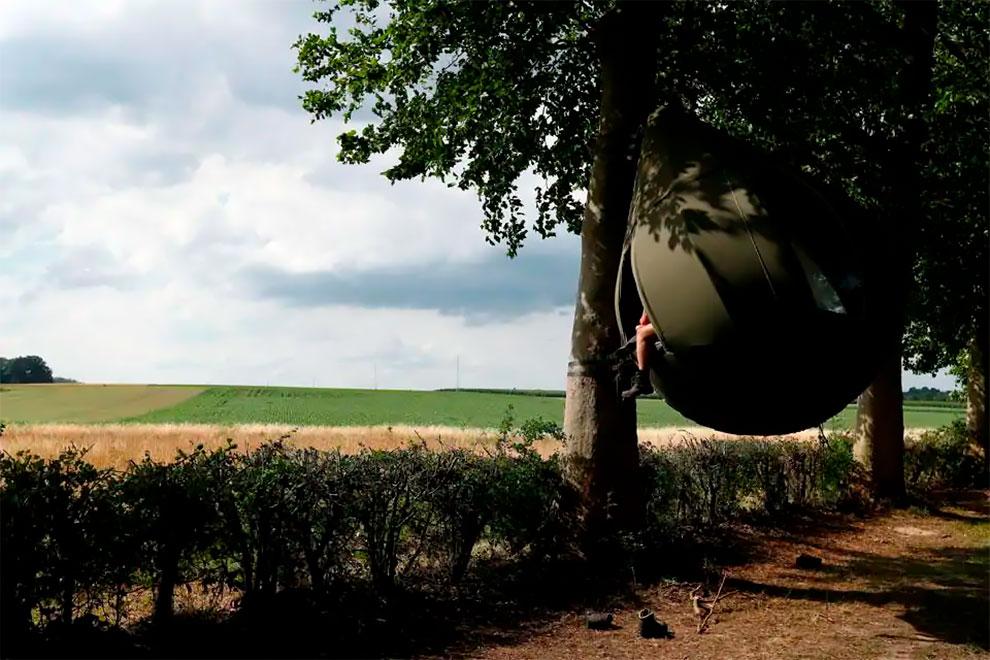 Carpas con forma de lágrima belgica Dre Wapenaar (3)