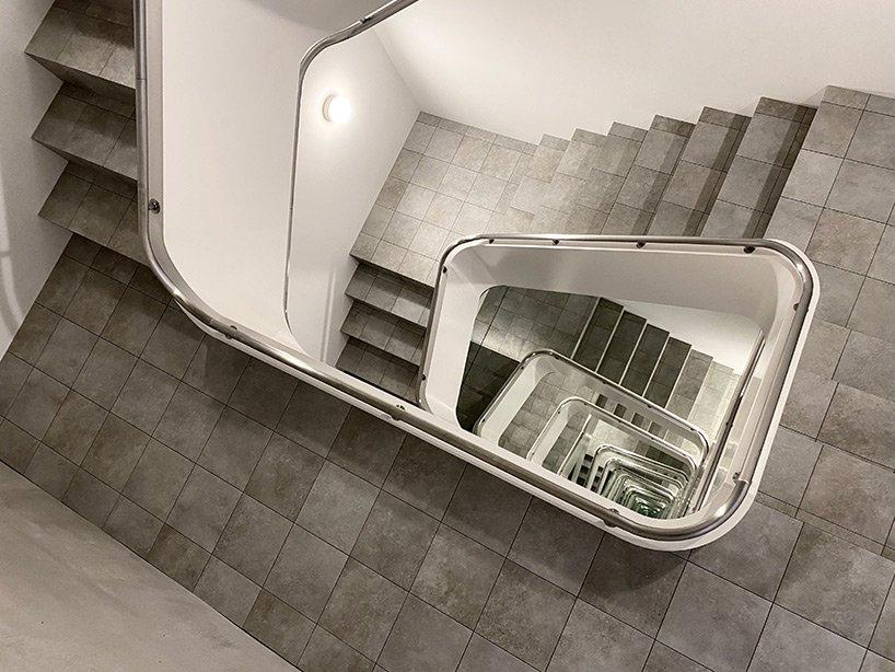 Escalera infinita Leandro Erlich KAMU japón (3)
