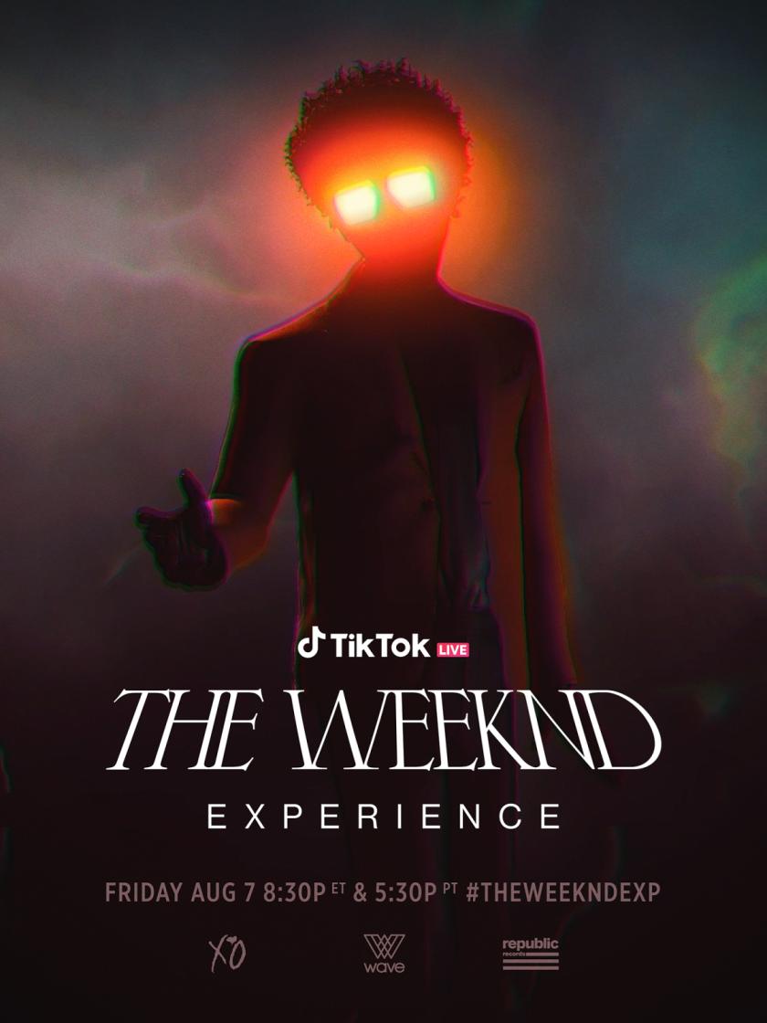 The Weeknd ofrecerá concierto virtual de cross-reality en exclusiva desde TikTok (1)