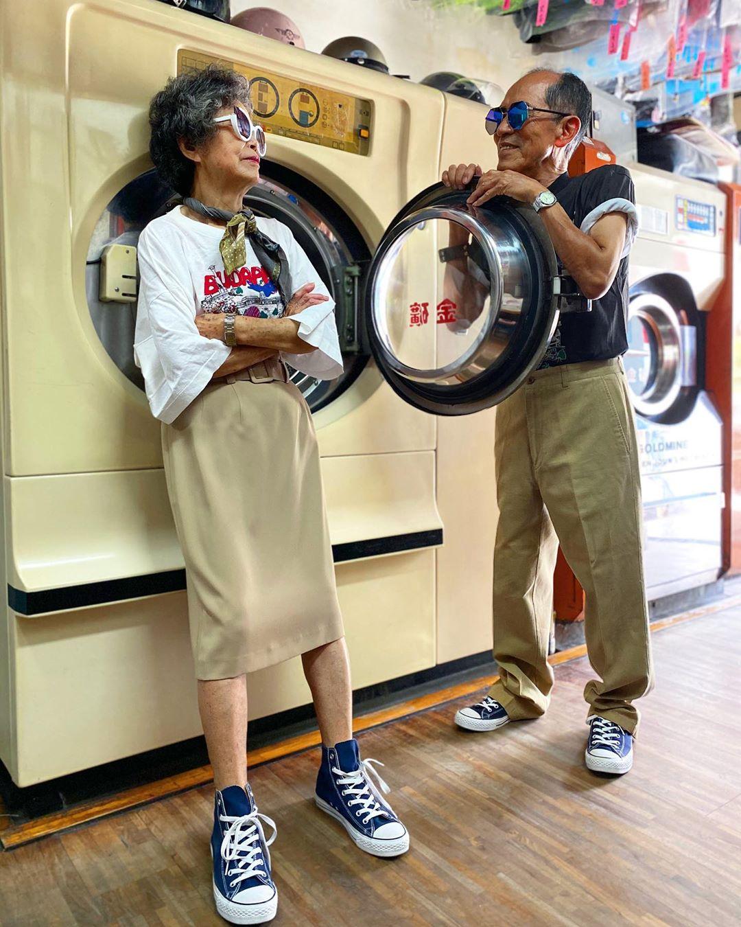 Wan-Ji Sho-Er taiwaneses lavanderia ropa viejos cool (2)
