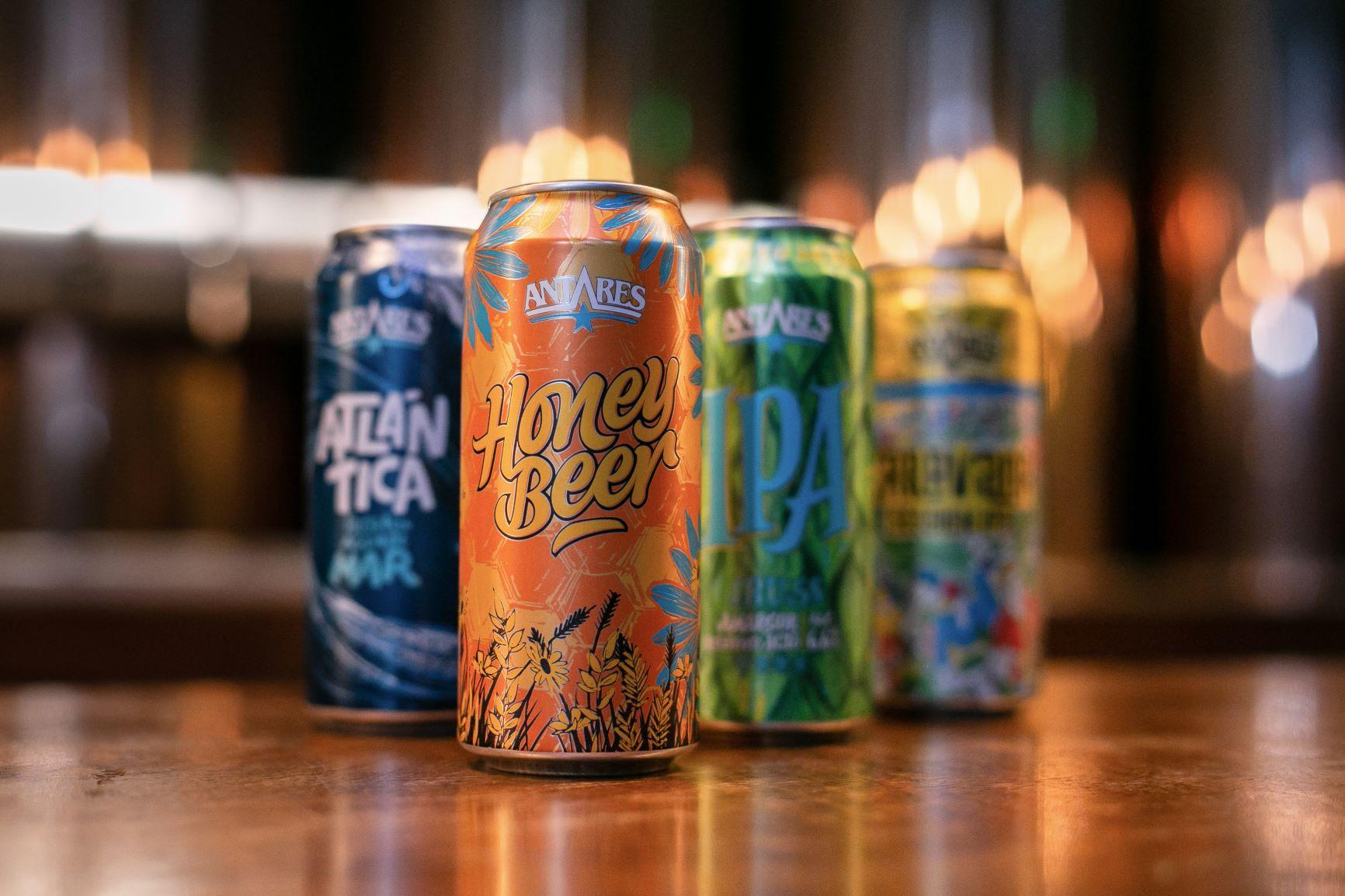 Antares presenta su nueva Honey Beer en lata (2)