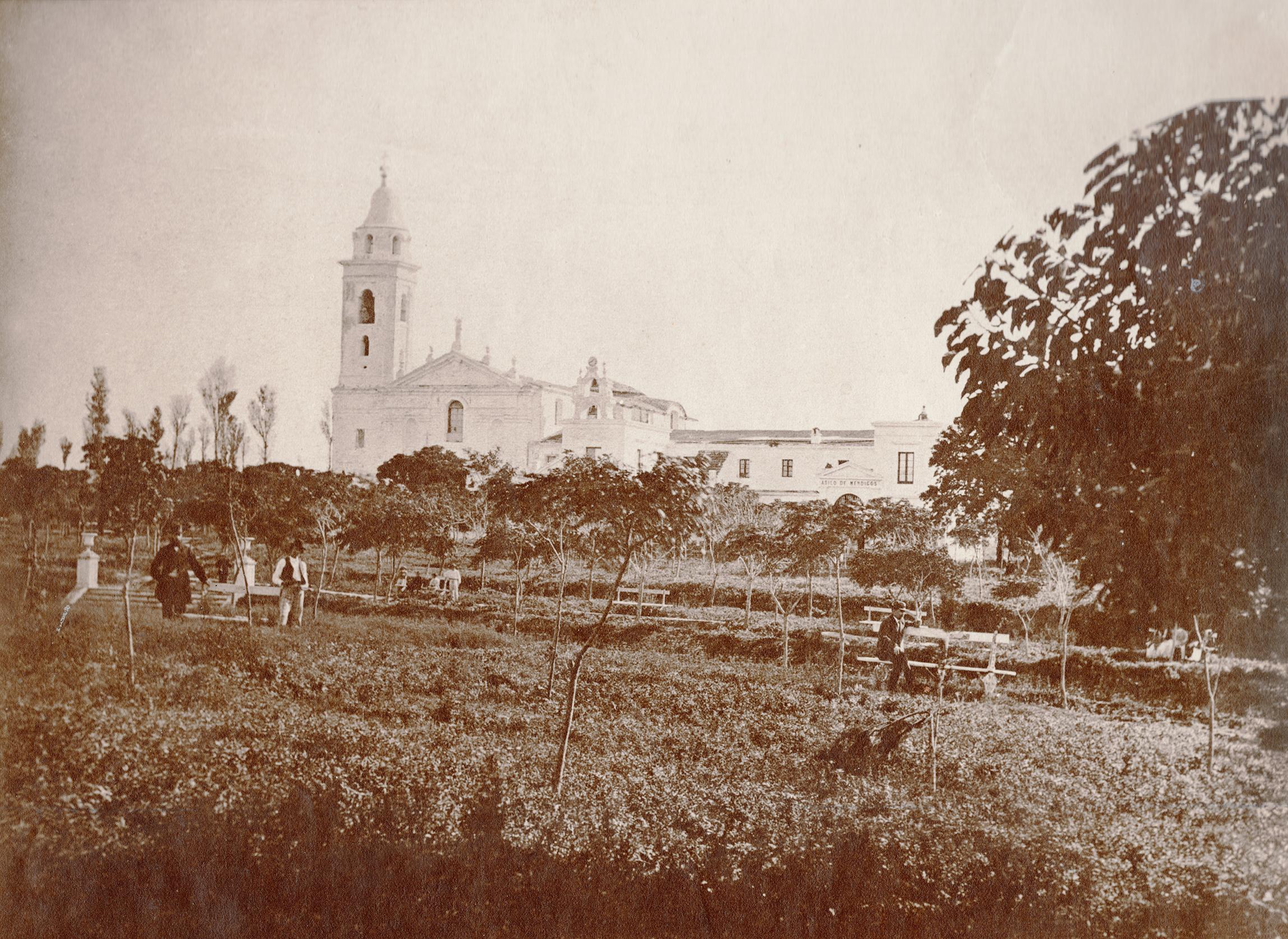 Enrique Moody - Iglesia del Pilar (Gentileza Hilario, Artes Letras & Oficios)