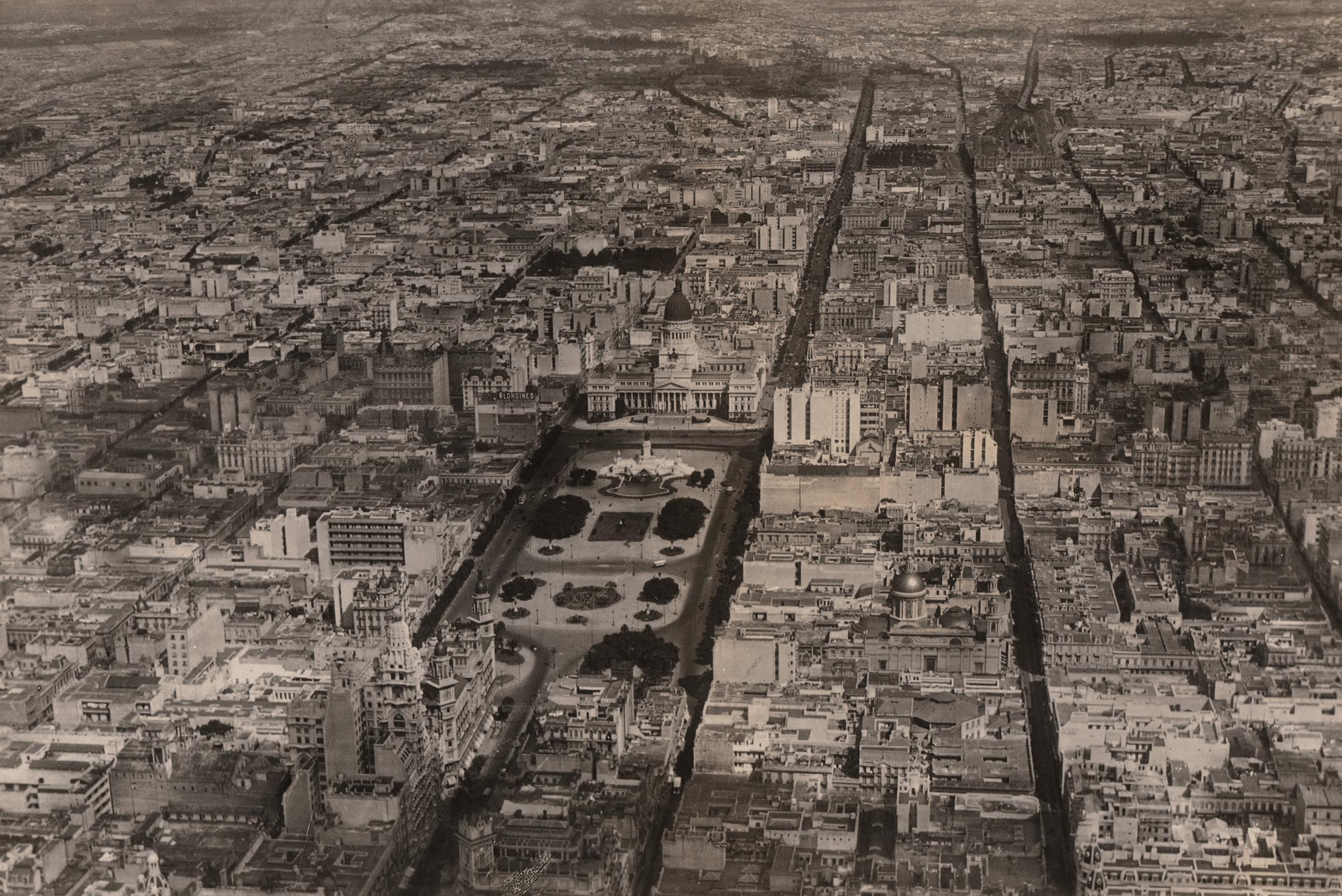 Gaston Bourquin - Vista de Buenos Aires (Gentileza Hilario Artes Letras & Oficios)