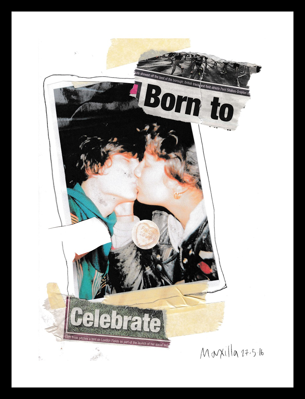 Lotte Macxilla Andersen - Born to Celebrate. Gentileza Galería Ginsberg