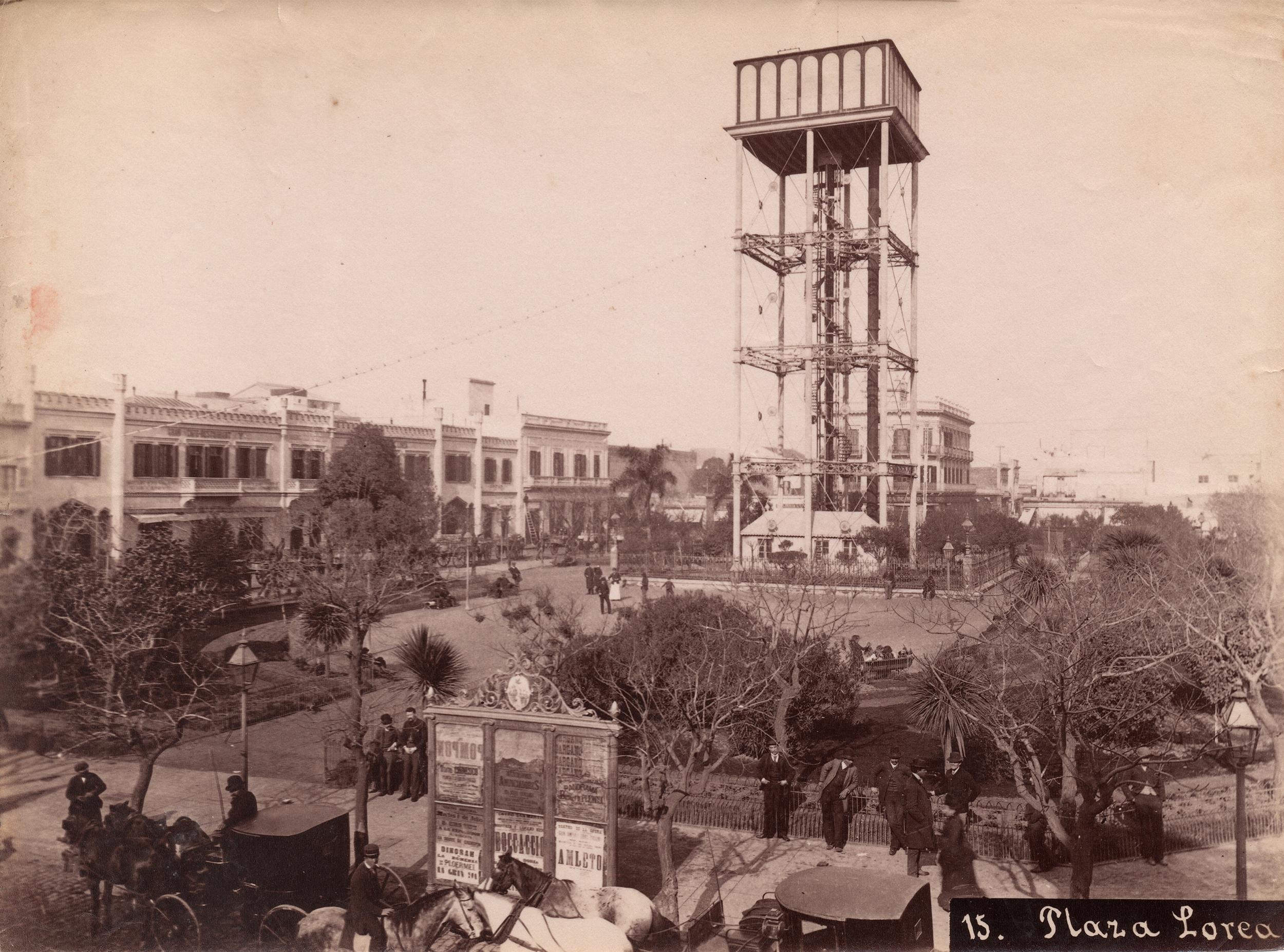 Samuel Rimathé - Plaza Loria (Gentileza Hilario Artes Letras & Oficios)