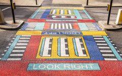 camille Walala transforma calles de Londres con sus coloridos patrones geométricos (1)