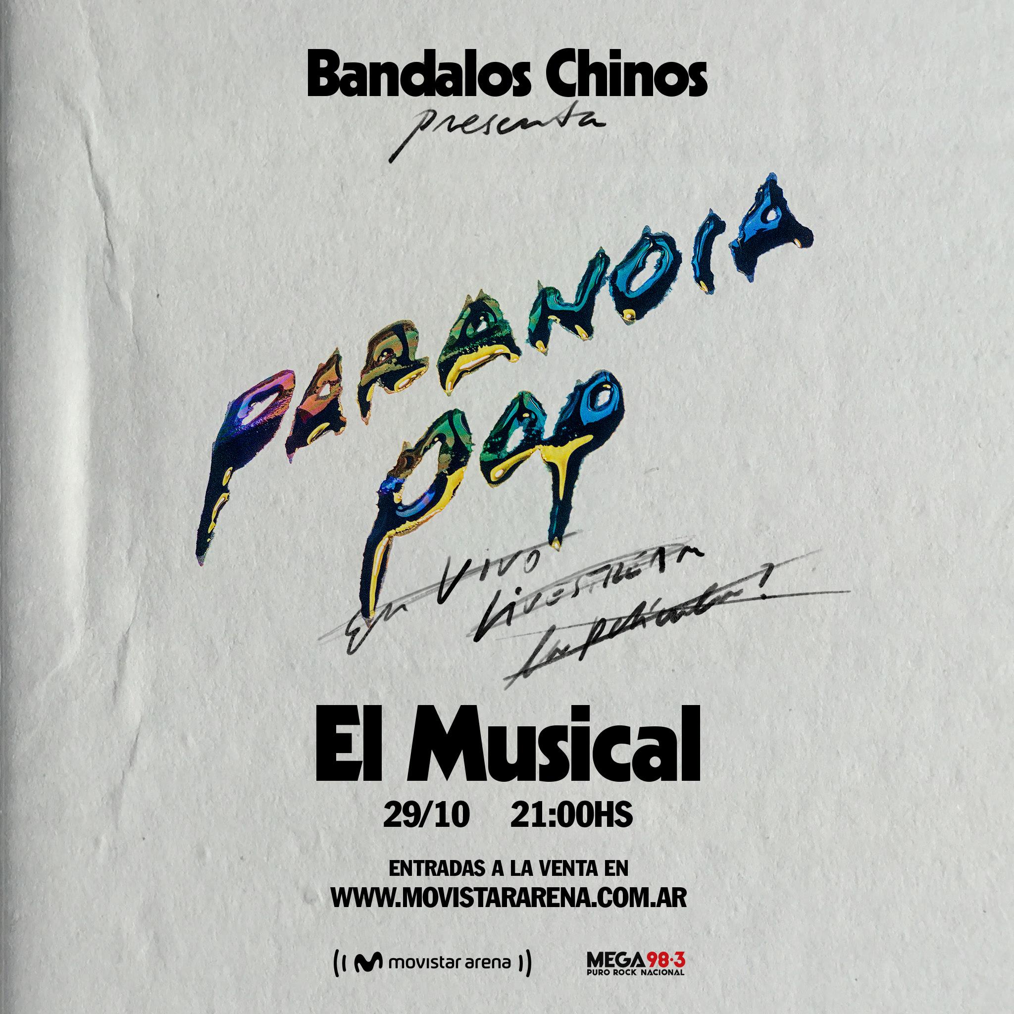 Bandalos Chinos en vivo vía streaming desde Movistar Arena (1)
