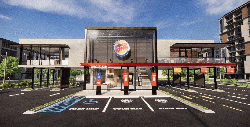 Burger King presenta su local del futuro con diseño post-pandémico sin contacto (2)